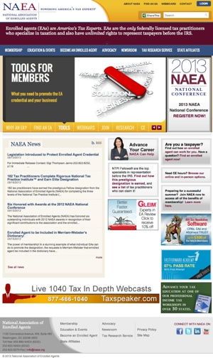 NAEA Website Thumbnail